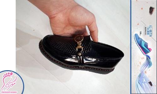 تولیدی کفش بچه گانه پسرانه چرم