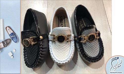 خرید کفش بچه گانه پسرانه مجلسی