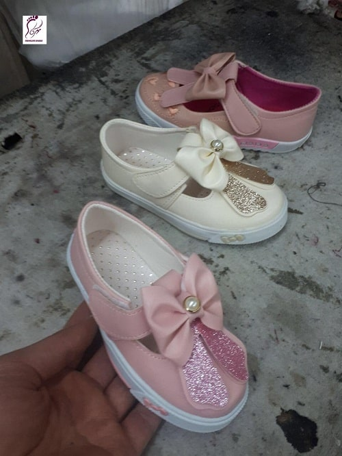خرید کفش بچه گانه دخترانه پاشنه بلند مجلسی