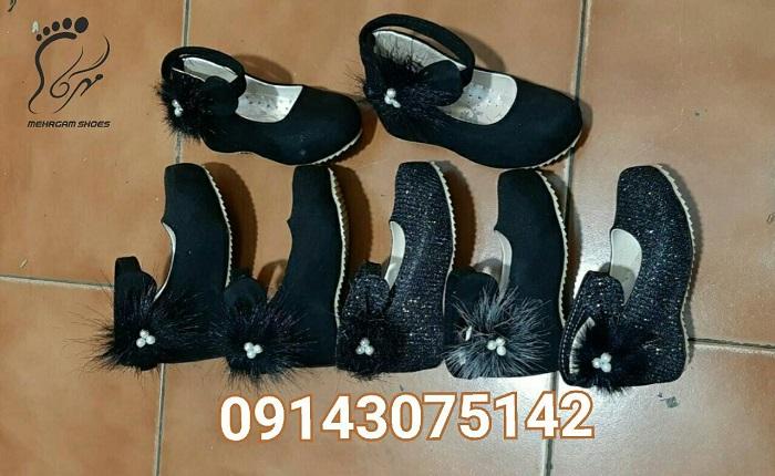 مدل کفش بچه گانه دخترانه مشکی