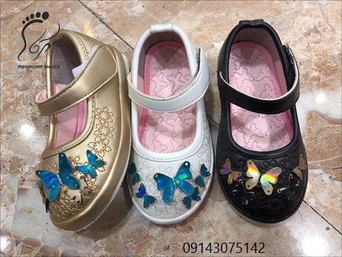 جدیدترین مدل کفش های مجلسی دخترانه
