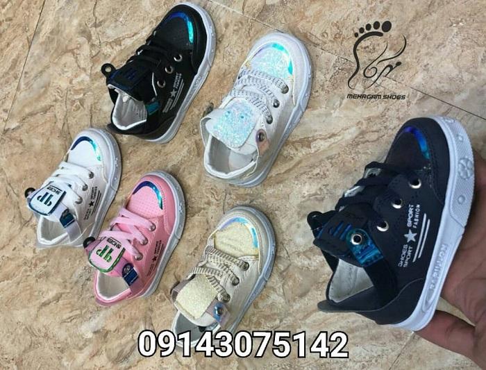 انواع مدل کفش بچه گانه جدید