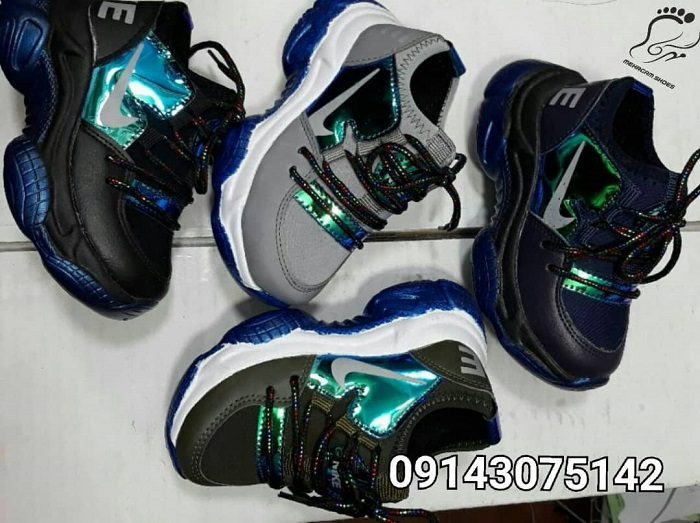 کانال تولیدی کفش اسپرت بچه گانه