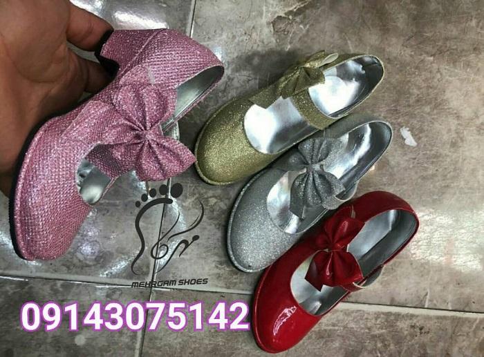 کفش پاشنه بلند دخترانه بچه گانه