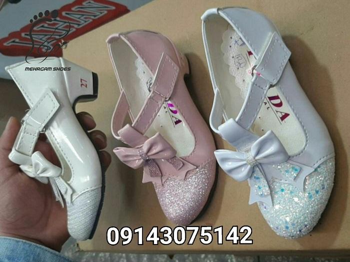 خرید اینترنتی کفش پاشنه بلند دخترانه ارزان