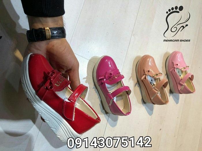 کفش پاشنه بلند دخترانه کودکانه