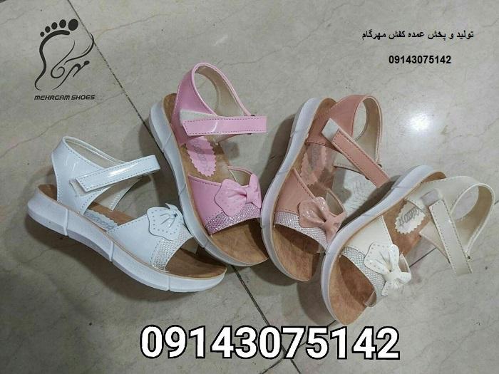 کفش تابستانی دخترانه